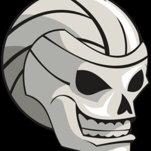 VOLLEYBALL SKULL RQC Thumbnail