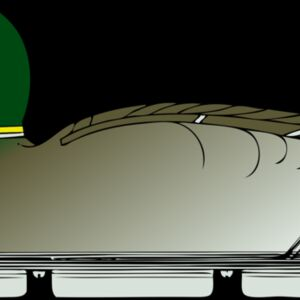 johnny automatic duck decoy  side view Thumbnail