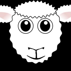Sheep 01 Face Cartoon Thumbnail