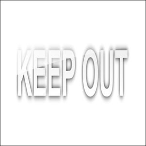 KEEP OUT Thumbnail