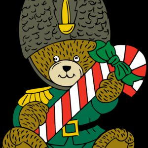 johnny automatic Christmas guard bear Thumbnail