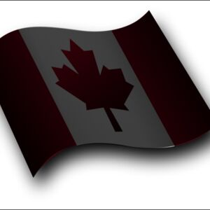 Canadian Flag 3 by Merlin2525 Thumbnail