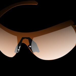 sun glasses orange Thumbnail
