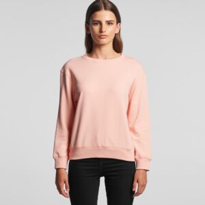 AS Colour WOMEN'S PREMIUM CREW- Flat Shot Thumbnail